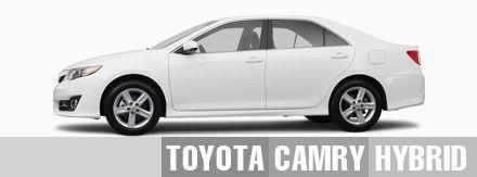 Toyota Camry Hybrid Rental