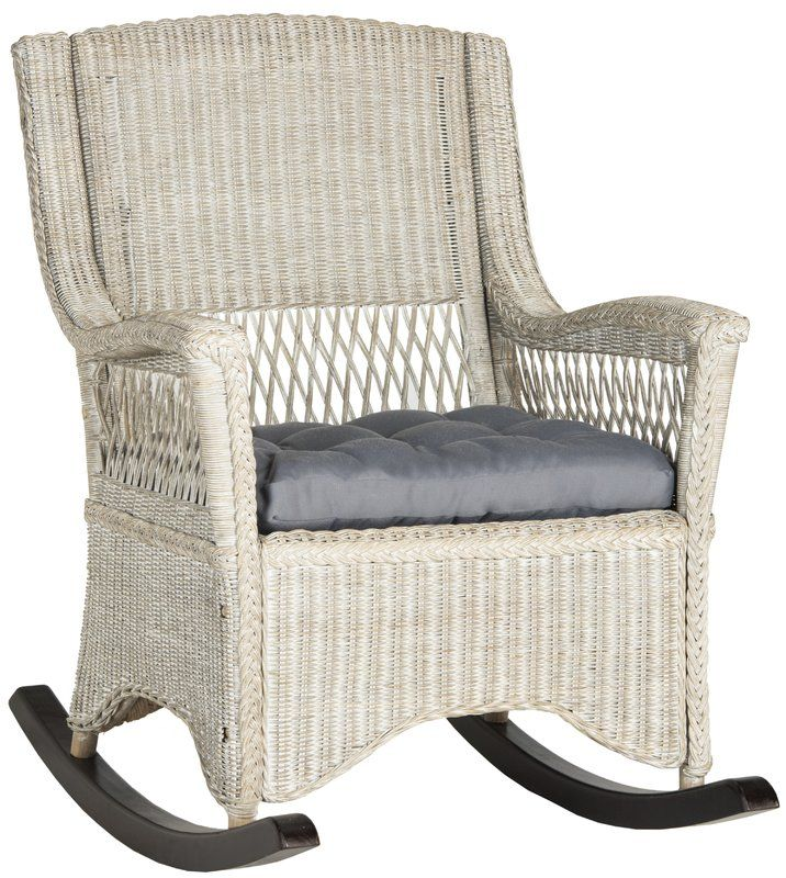 classic fit 4f539 61d7a Jalyn Rocking Chair in 2019 | Joyce patio | Rattan rocking ...