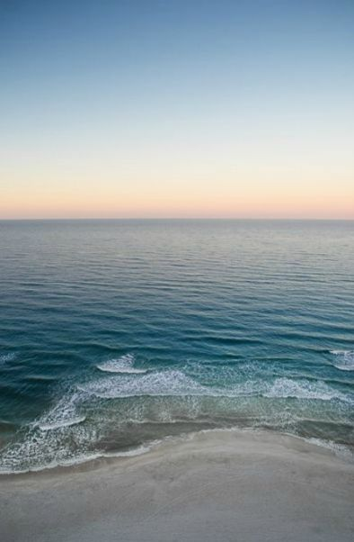 Peaceful waters in Panama City Beach /