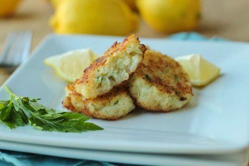 Fish Patties - Рыбные Котлеты - Olga's Flavor Factory
