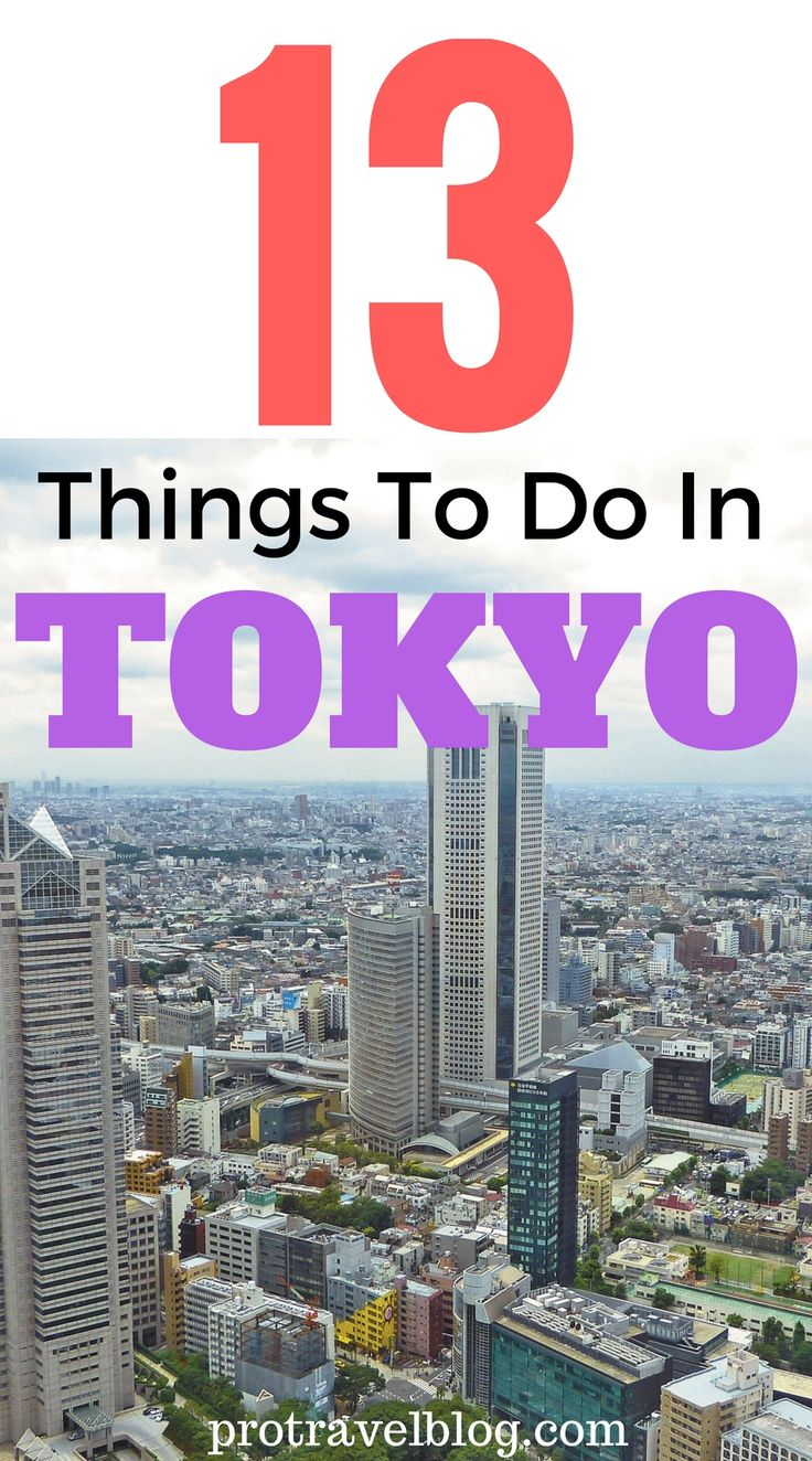 Tokyo is one of my favorite cities in Asia. Here are 13 super fun things to do in Tokyo.
