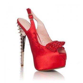 Cu un design modern, avand un toc de 14 cm imbracat in tinte si colorate intens, sandalele Linda – Rosu vor face deliciul serilor de vara, cand veti fi la diverse petreceri. Veti fi senzuala si veti radia sub privirile celor din jur, care nu vor avea decat cuvinte de lauda la adresa dumneavoastra. E timpul sa aveti sandalele Linda – Rosu!