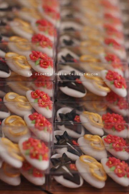 La ricetta della felicità: confetti decorati per matrimonio!