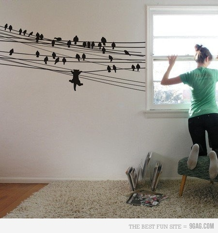 cute wallpainting