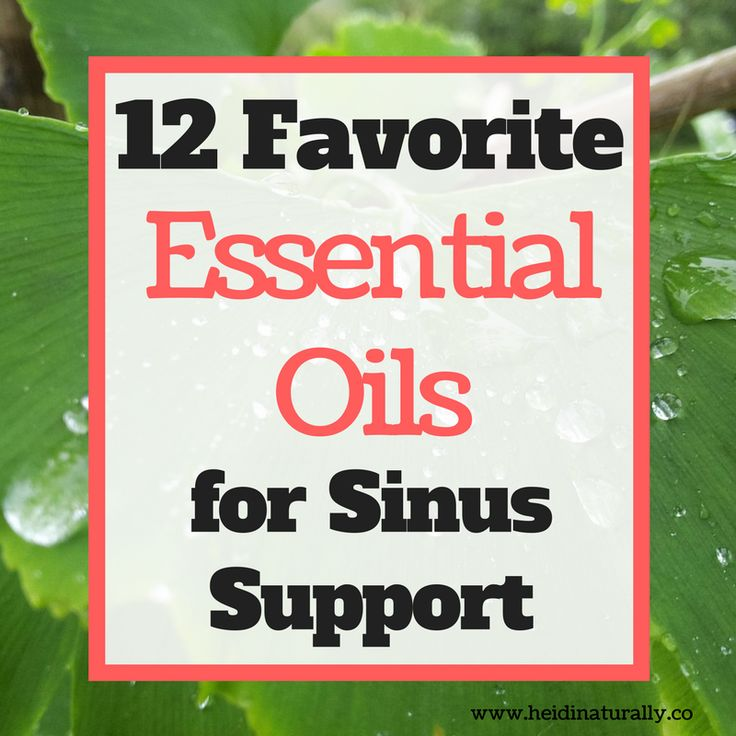 Find out which essential oils to use for sinus support. Learn which oils are best and how to use them to their fullest potential. #essentialoils
