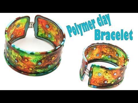 Polymer clay Bracelet (Fimo Liquid)/Pulseira Fimo liquido/Tutorial