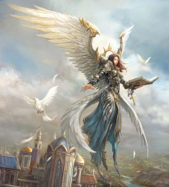 Demon Angel Concept Art