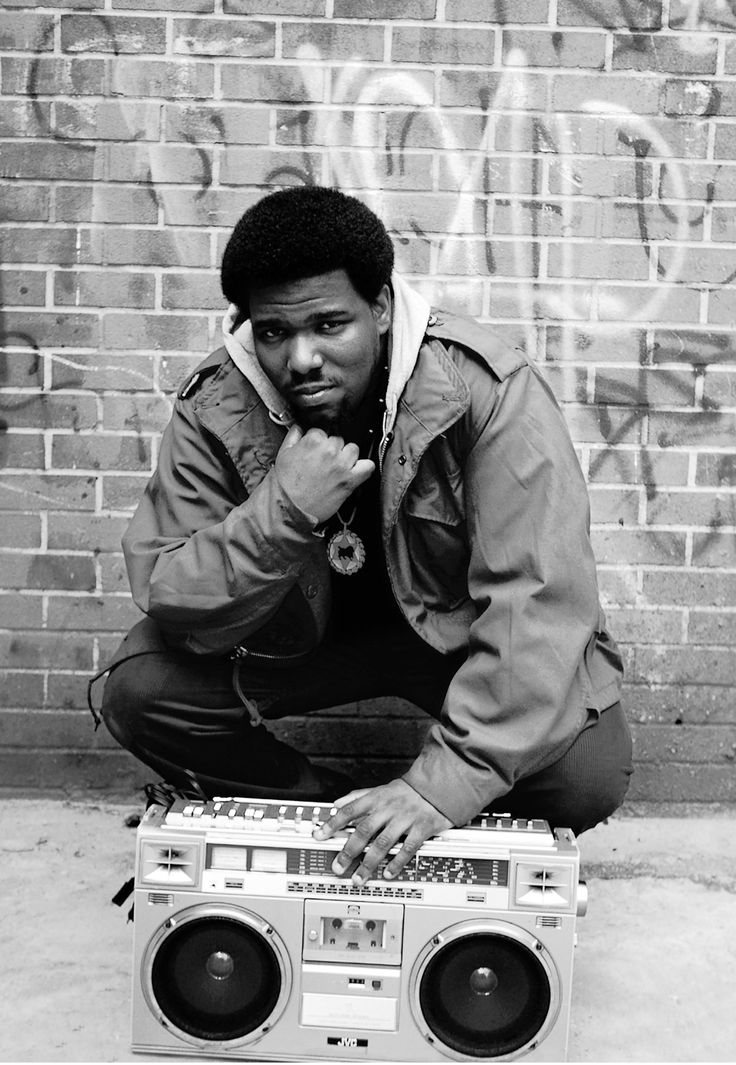 AFRIKA BAMBBATAA: Godfather of hip-hop and electro-funk, Bronx, 1983