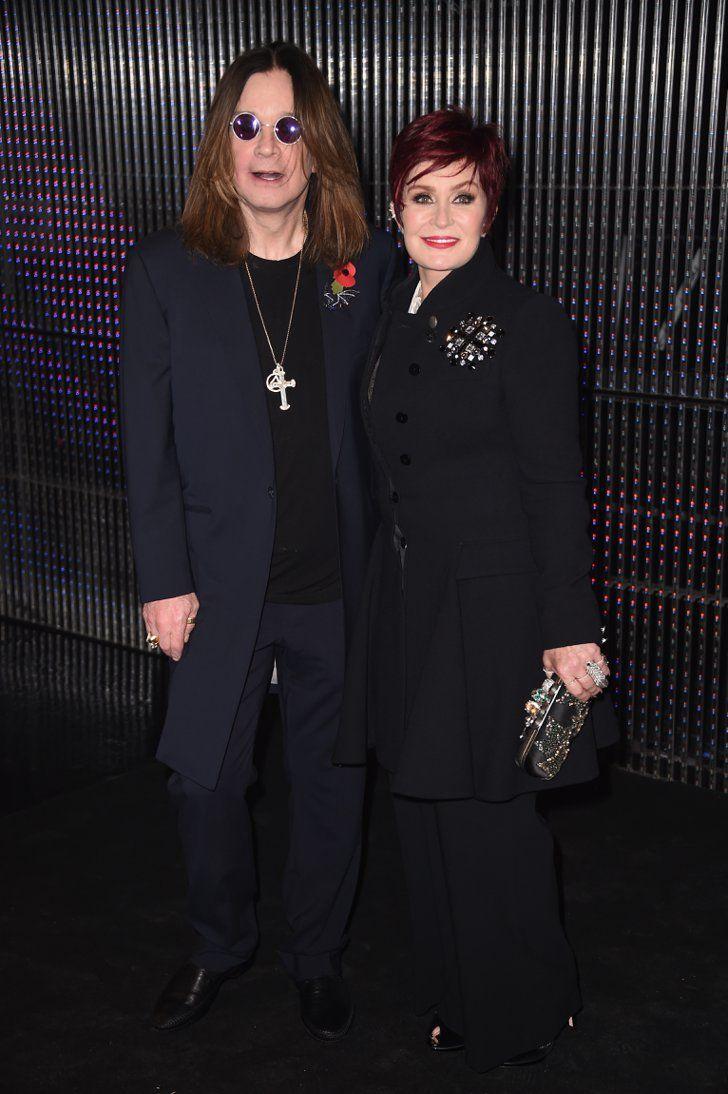 Pin for Later: Nicki Minaj et Ariana Grande Étaient au Centre de L'attention Lors des MTV EMAs Ozzy et Sharon Osbourne