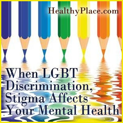 of stigma affect the mental health of lesbians and gay