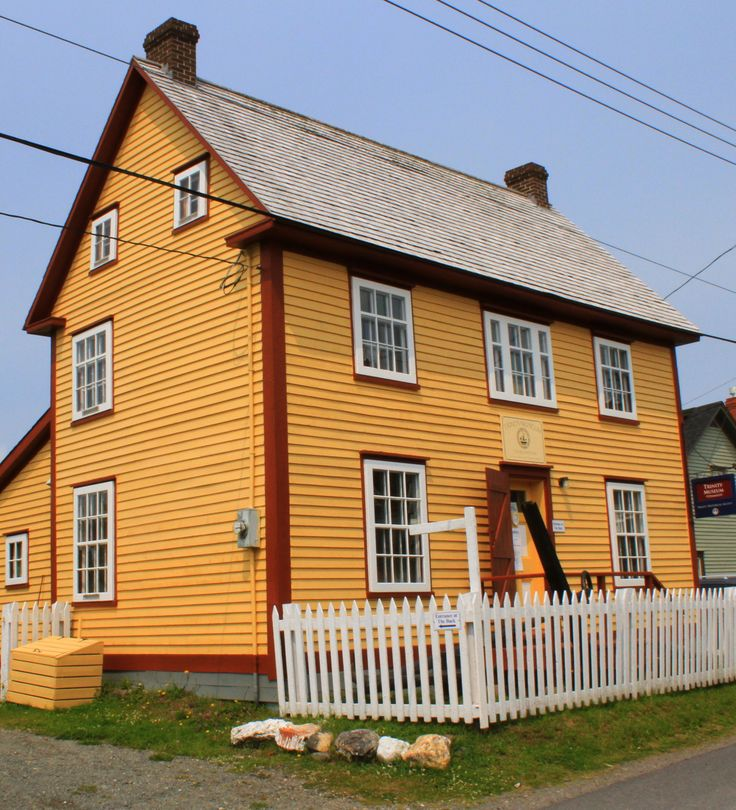 Trinity Museum, Newfoundland, is an 1880's salt box style house built by the DeGrish family. This house now holds a collection of over 3,000 artifacts donated by people of the Trinity NF area and elsewhere.