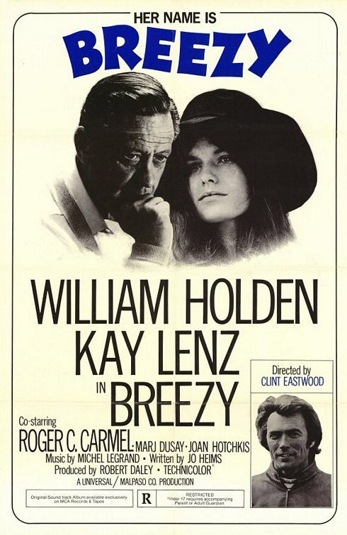 Breezy (1973) Interludio de amor Dir. Clint Eastwood William Holden y Kay Lenz