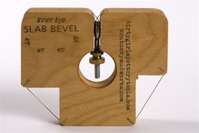 Order your INNER EYE SLAB BEVEL : DIRTY GIRLS POTTERY TOOLS from Sheffield Pottery discount ceramics supplies.