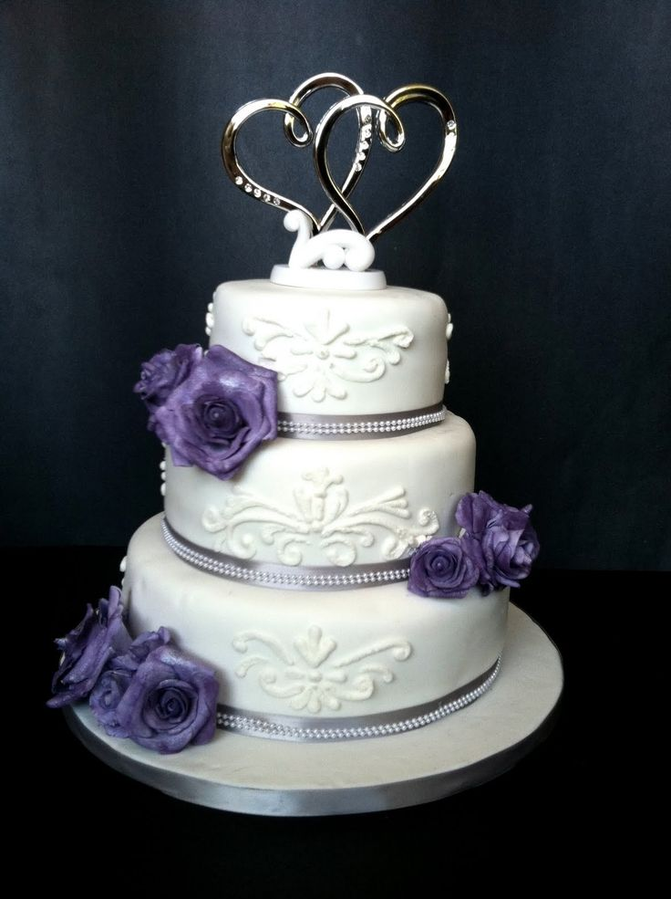 purple and silver wedding cake designs 25 best ideas about purple silver wedding on 18873
