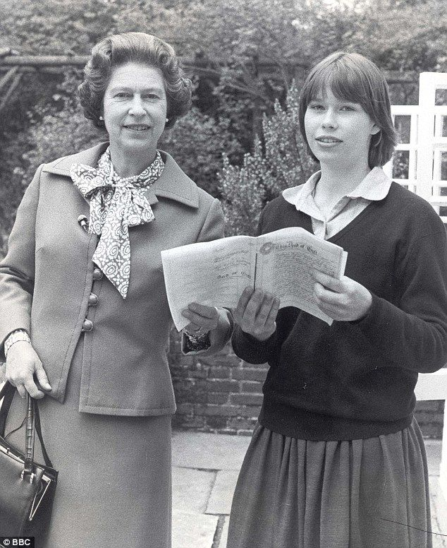 Daughter of the Queen's late sister, Princess Margaret, Lady Sarah, who turns 52 tomorrow, is one of the most low-key Royals yet holds a very special place in Her Majesty's affections. Pictured: The Queen with Lady Sarah Armstrong-Jones