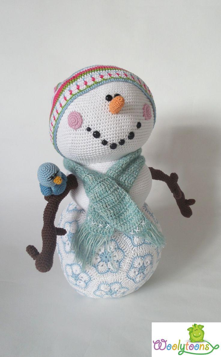 The 317 best ♡ Crochet Knit Snowman ♡ images on Pinterest | Xmas ...