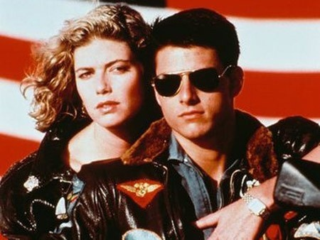 TOP GUN!!! EVERYONE WAS IN LOVE WITH TOM <3
