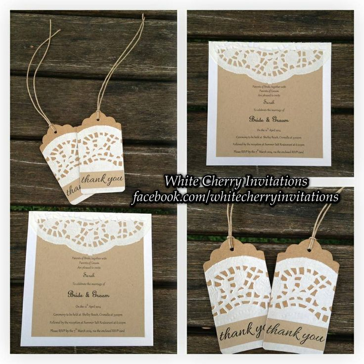 Wedding Ideas On Pinterest: Wedding Invitation Ideas...