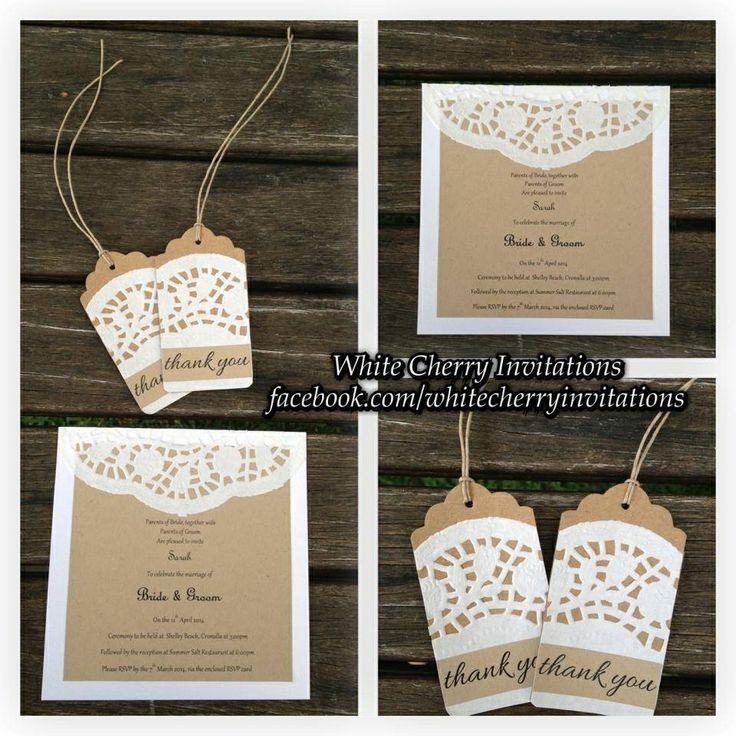 Doily invites wedding invitation ideas pinterest for Pinterest invitation