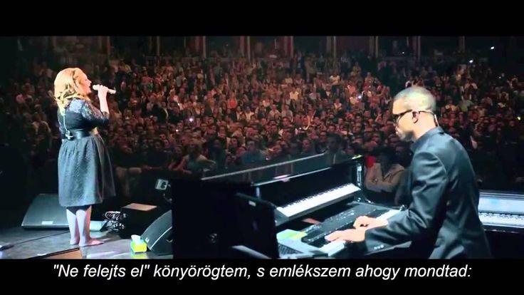 Adele : Someone like you Magyar Felirattal