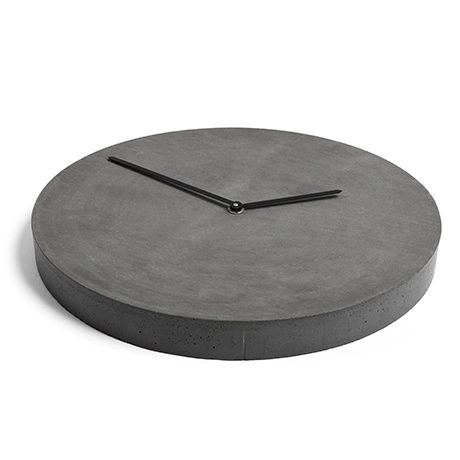 Tempus Concrete Wall Clock by Urbi et Orbi | MONOQI