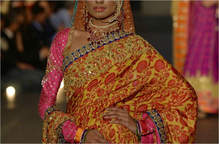 La Bridal Week Lahore es la otra cara de las tendencias en vestidos de novia