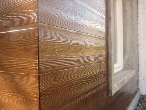 siding un revestimiento de fibrocemento que asemeja a la madera cuando se pinta el mismo