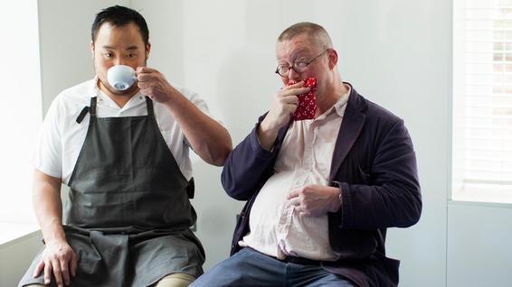 David Chang and Fergus Henderson