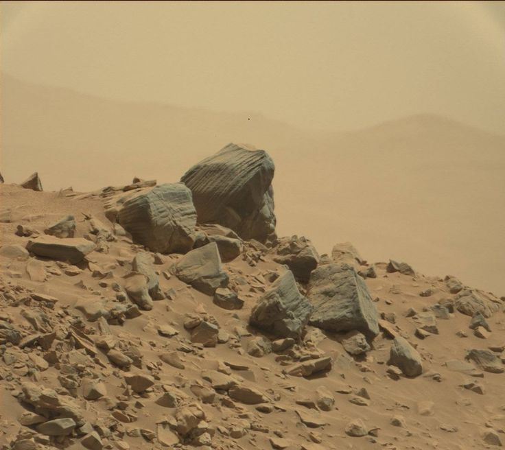 NASA's Mars rover Curiosity acquired this image using its ...