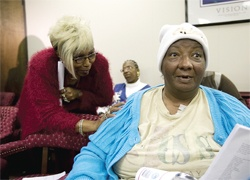 Justice for victims of forced sterilization       Written by Fcadmin   19 January 2012 Poor Blacks among thousands targeted in N.C. program; panel votes to give $50,000 compensation         BY DAVID ZUCCHINO  LOS ANGELES TIMES/MCT