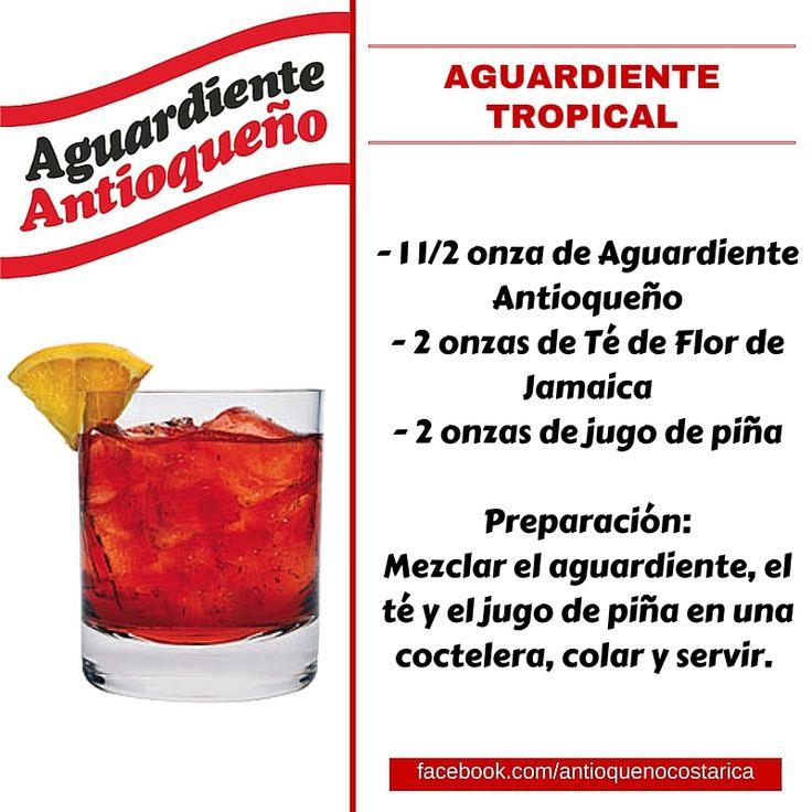 ¡Aguardiente Antioqueño combina con todo! #Aguardiente #Antioqueño #Coctel #Cocktail #Aguardiente #Tropical