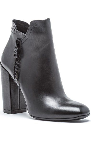 ANDREW MARC Tiffany Block Heel Bootie (Women). #andrewmarc #shoes #boots