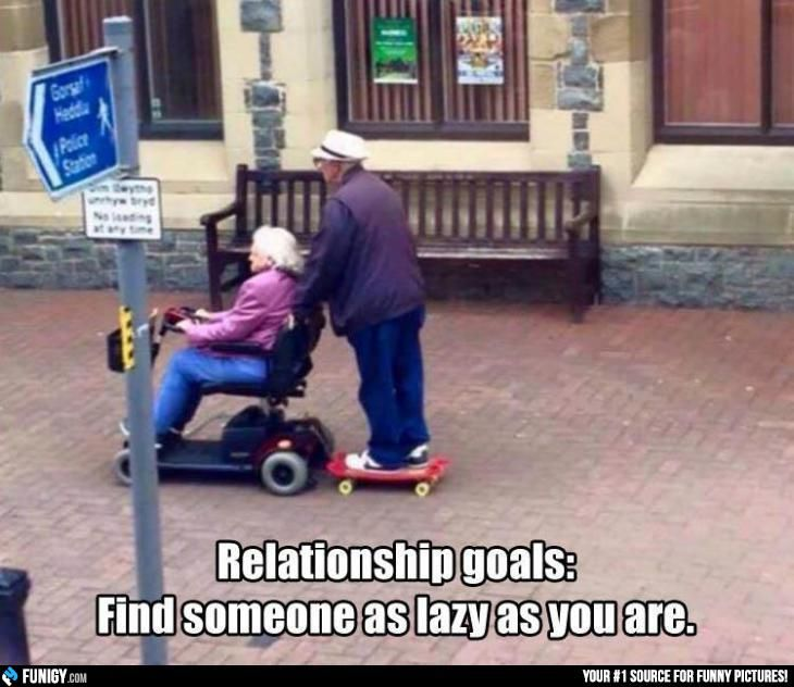Relationship goals: Find someone as lazy as you are (Funny Relationship Pictures) - #find #lazy #relationship goal