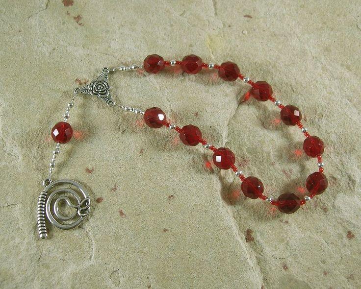 Nemesis Pocket Prayer Beads: Greek Goddess of Vengeance and Retribution