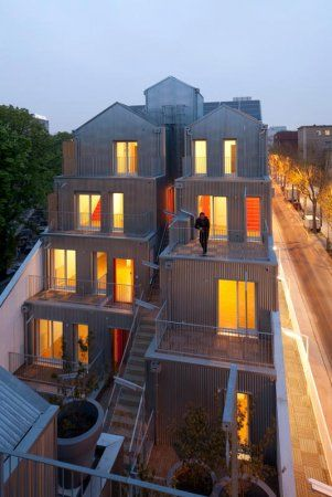 'M' BUILDING, 20 LOGEMENTS A PARIS - STEPHANE MAUPIN ARCHITECTURE + DESIGN