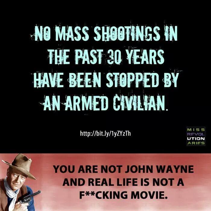 Assholes for gun comtrol vecchia