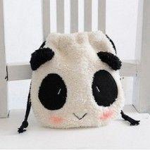 Sac cosmétique Pandas :)
