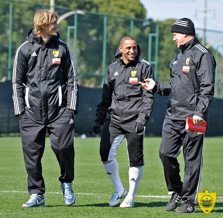 With Roberto Carlos at Kempinski The Dome, Belek.