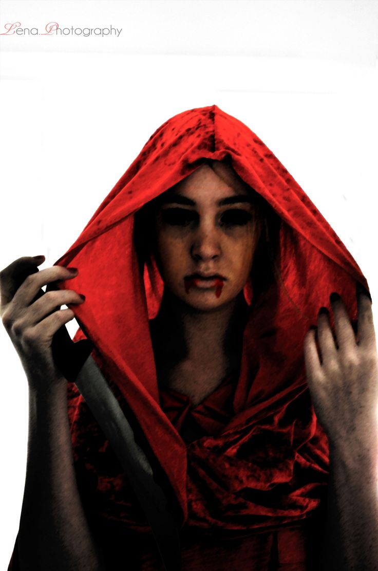 Little Red Riding Hood, But she is the bad guy.