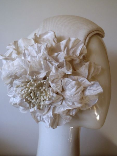 BLANC DE BLANC BY GREER MCDONALD #millinery #hats #HatAcademy