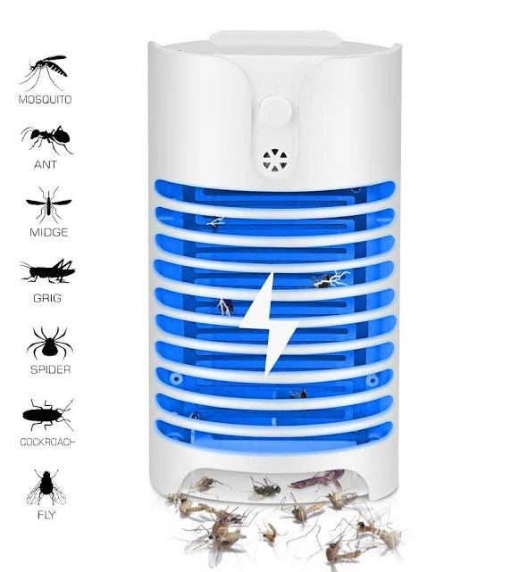 Indoor UV Flying Insect Killer Electric Electronic Mosquito Pest Fly