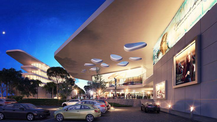 Render Centro Comercial - EVA3D