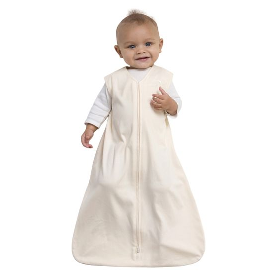 The 100% Cotton SleepSack Wearable Blanket from HALO keeps baby sleeping safe and sound