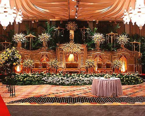 Unique Wedding Decoration Picture from Java Island Indonesia