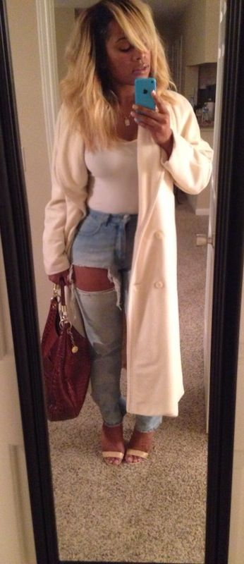 nice jean, jacket and shoe combo