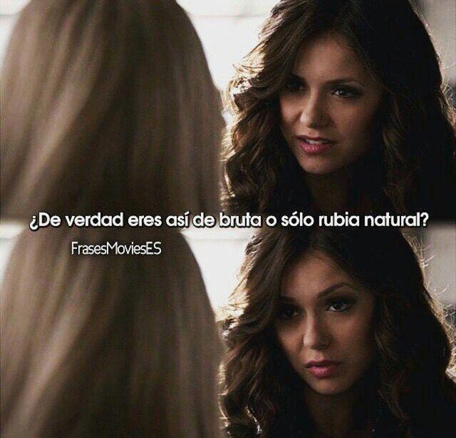 Katherine tu carisma hace falta en la serie.   The Vampire Diaries ❤️