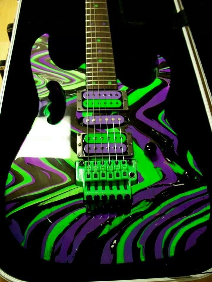 Ibanez JEM and a nice swirl paint job too | Now That's ...