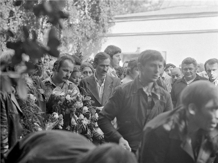 Н.Губенко, Н.Сайко, Л.Филатов. Ваганьково, 28 июля 1980 года.<br />