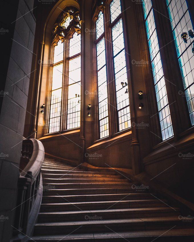 Grand Staircase - UW by Merrymint Designs on @creativemarket