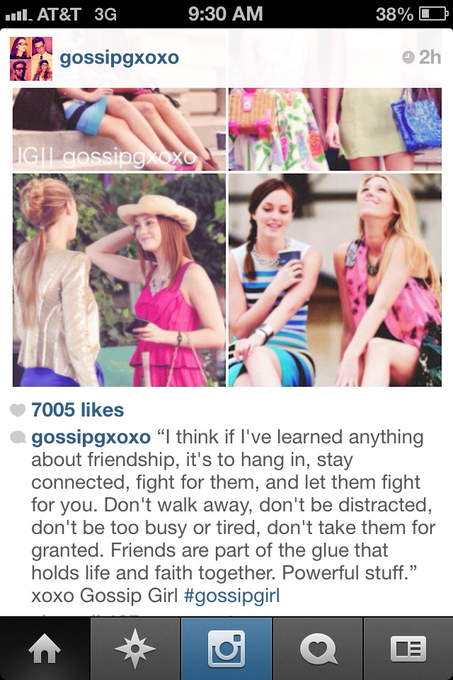 Gossip Girl Quotes About Friendship